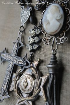 """Christine Wallace... """"Honoring Life Through Jewelry"""": Simple Statements..."""