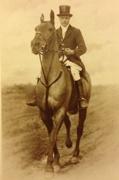 Edward, Prince of Wales - An impeccably dressed man & horse.