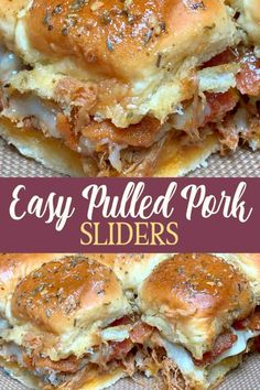 Easy Pulled Pork, Pulled Pork Sliders, Barbecue Pulled Pork, Pulled Pork Recipes, Recipe With Pulled Pork Leftovers, Pulled Pork Sides Dishes, Leftover Pulled Pork, Hawaiian Pulled Pork, Smoked Pulled Pork