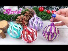 Diy Quilling Christmas, Foam Christmas Ornaments, Spiral Christmas Tree, 3d Christmas, Paper Ornaments, Christmas Tree Decorations, Foam Sheet Crafts, Foam Crafts, Foam Sheets