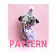 Amigurumi Crochet Pattern-Elephant