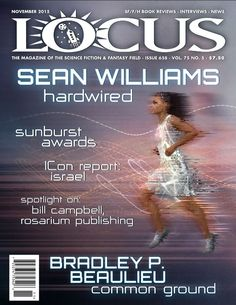 """Contains an interview called """"Hardwired"""" about Twinmaker and many other things: http://www.locusmag.com/Magazine/2015/11/table-of-contents-november-2015/"""