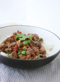 Kheema: Indian Ground Beef with Peas « From Aarti Party I make this ...