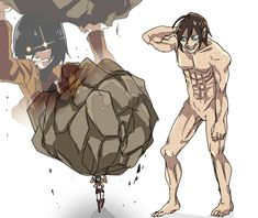 Yes Mikasa can do anything for eren