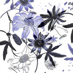 Brief-Story Surface Pattern, Surface Design, Textures Patterns, Print Patterns, Textile Printing, Pattern Paper, Pattern Fashion, Flower Prints, Fashion Prints