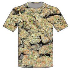Weed Shirt 420 All Over Print 710 Marijuana Bud Dank Weed Sublimation Tee #ColoradoTimberline #ShortSleeve