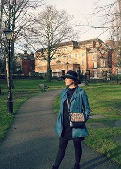 A personal style post featuring my first 'everyday' hat. Is it time to make hats an essential everyday item again or should they just be for occasions? Black Fedora, Fedora Hat, Everyday Items, Everyday Look, Workout Wear, Trench, Lifestyle Blog, Rain Jacket, Personal Style