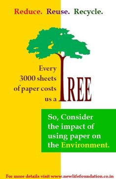 The impact of paper on our environment. www.dogwoodalliance.org