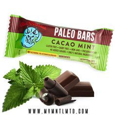 Cheat clean with Blue Dinosaur bars  Ft. Cacao Mint Paleo Bar  ▪️Fantastic source of magnesium ▪️Nut Free ▪️Fantastic source of MCT's ▪️Very high in antioxidants ▪️Superfood ▪️Gluten Free ▪️Dairy Free ▪️Soy Free ▪️Preservative Free ▪️No added sugars  SHOP NOW! (Link in bio) #cleaneating #paleo #vegan ------------------------------- ✅Follow Facebook: MVMNT. LMTD Worldwide shipping  mvmnt.lmtd@gmail.com www.mvmntlmtd.com | Fitness | Gym | Fitspiration | Gy Aapparel | Fitfam | Workout |