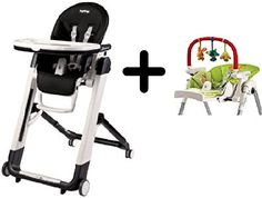 Peg Perego Siesta Highchair Licorice  Peg Perego High Chair Play Bar -- For more information, visit image link.
