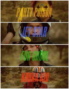 My Chemical Romance - Danger Days - Gerard, Ray, Frank, Mikey Gerard Way, Emo Bands, Music Bands, My Chemical Romance, Punk Rock, Hard Rock, Mikey Way, Black Parade, Killjoys