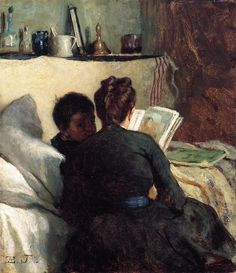 pintura de Eastman Johnson (1872?)