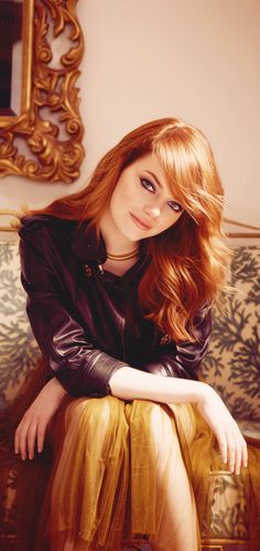 Emma Stone is perfection I wish I could be as beautiful and perfect as Emma stone  but who am I kidding?