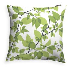 Schumacher This pillow features dogwood leaf in ivory. Hand-painted in the studio under the direction of miles redd, this lovely swirling botanical has an undeniably artful charm. Hand Painted, Shop Decorative Pillows, Leaves Pillow, Faux Fur Throw Pillow, Velvet Throw Pillows, Cotton Throw Pillow, Farmhouse Pillows, Pillows, Decorative Pillows