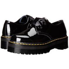 356fd85dd95 Dr. Martens Holly Lolita Shoe (Black Patent Lamper) Women s Lace up.