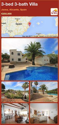 3-bed 3-bath Villa in Javea, Alicante, Spain ►€250,000 #PropertyForSaleInSpain