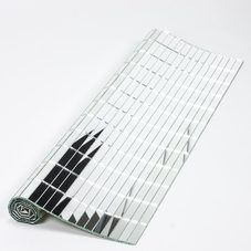 Mirror tile sheets and glass wall tiles for crafts, mosaic art, home decorating projects & more. x rectangle mirror tile pieces available in bulk. Mirror Tiles, Wall Tiles, Glass Tiles, Floor Vase Decor, Vases Decor, Diy Mirrored Furniture, Wooden Christmas Crafts, Glitter Paint For Walls, Architectural Scale