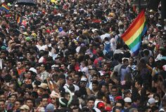 17 photos of Pride marches in cities around the world - http://www.baindaily.com/17-photos-of-pride-marches-in-cities-around-the-world/