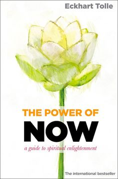 """Book cover design and Illustration for """"The Power of Now"""" - Eckhart Tolle"""
