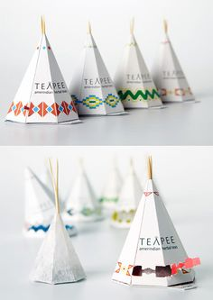 Teapee Tea Bags and Other Cool Packaging. We LOVE tea in the SLICK Creative Lab. (And cool packaging, too.
