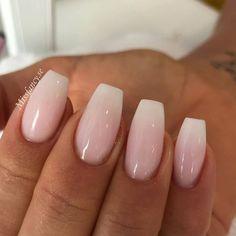 Short Arcylic Coffin Nails Design For Fall 2019 - Short acrylic nails coffin - Cute Acrylic Nails, Glitter Nail Art, Cute Nails, Pretty Nails, Shapes Of Acrylic Nails, Aycrlic Nails, Hair And Nails, Pink Nails, Nagel Gel
