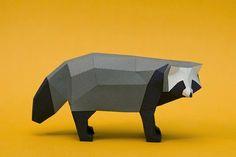 Papercraft Animal Figurines-9