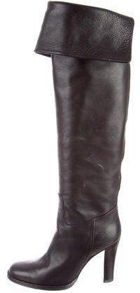 Ralph Lauren Round-Toe Over-The-Knee Boots