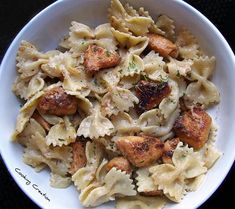 This is the BEST cajun alfredo recipe I have EVER made....and I've made ALOT of alfredo! I use linguini instead of the bow tie pasta. Add a little fine grain sea salt & pepper on top and YUMMO!!!