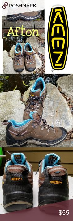 KEEN TARGHEE COLLECTION HIKING SHOE Excellent condition, all terrain waterproof rubber outsole with multiple multidirectional lugs for traction. Upper is leather and mesh. Questions are encouraged and appreciated. No smoke home.  Thank you for visiting my closet ⚘Afton Keen Shoes