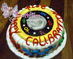 """Exalted - Happy Calibration"" cake"