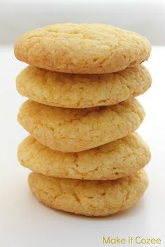 Easy yummy lemon cookie recipe