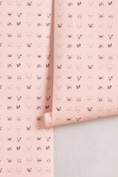 We are obsessed with this cat wallpaper from Antropologie.