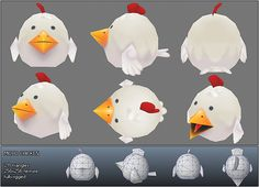 Bitgem's Quirky Low Poly Model Showcase - Tuts+ 3D & Motion Graphics Article