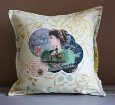 "#Cushion ""I see Magic everywhere"" © les broutilles 2013"
