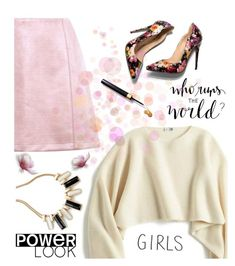 """""""GRL PWR"""" by makeup-queen-anna ❤ liked on Polyvore featuring Uniqlo, girlpower and powerlook"""