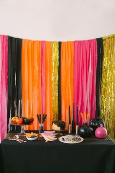 A Kate Spade Inspired Halloween Party  Read more - http://www.stylemepretty.com/living/2013/10/28/a-kate-spade-inspired-halloween-party/