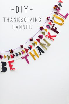 tell love and chocolate: TELL: THANKSGIVING BANNER