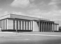 Deutschlandhalle Aussenansicht um 1940