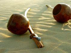Beriba that has a key-tightened arame. | Berimbau Brazil #capoeira  www.avycapoeira.com