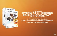 Enter to win this #Overwatch giveaway courtesy of @SocialGrowthHQ https://wn.nr/FJggZZ