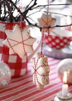 Christmas ornaments. Salt dough