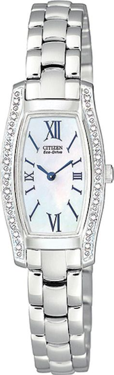Citizen EG2550-59D Silhouette Diamond Mother of Pearl on sale | tonyswatchshop.com Reduced from 425.00 to 254.99