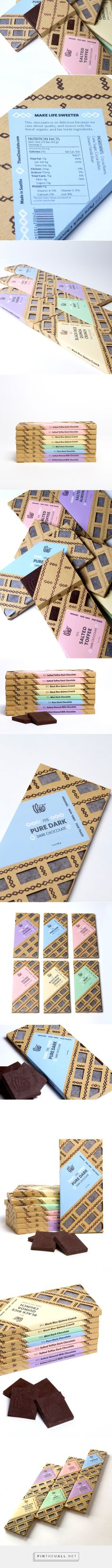 Theo Chocolate (Student Project) - Packaging of the World - Creative Package Design Gallery - http://www.packagingoftheworld.com/2017/01/theo-chocolate-student-project.html