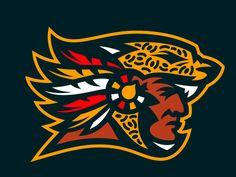 Dribbble - Los Angeles Jaguars by Mark Crosby Typography Logo, Logo Branding, Branding Design, American Logo, Black Anime Characters, Sports Team Logos, Sports Graphics, Great Logos, Logo Design Inspiration