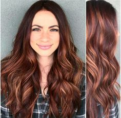 Summer hair!!!! Copper Balayage Brunette, Auburn Hair Blonde Highlights, Red Hair With Balayage, Auburn Balayage Copper, Red Brunette Hair, Red Bayalage, Copper Blonde Balayage, Hair Color Highlights, Brown Hair With Copper Highlights