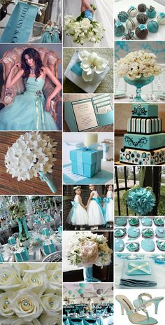 Tiffany wedding theme I might be a tad obsessed with this colour scheme