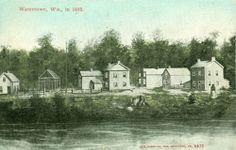 Watertown,WI. Watertown in 1842