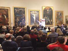 Vittorio Sgarbi illustra i capolavori della galleria Estense