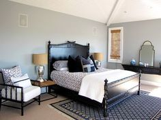 Color Design Ideas with Black Furniture