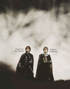 Merry and Pippin.  WITH TITLES?  (I mean, I knew that they had titles, but it's just so weird to think about!)